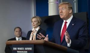 """ترامب: وفيات """"كورونا"""" في الولايات المتحدة أقل من الصين"""