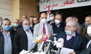 وزير الصحة: إننا على المستوى الميداني بمرحلة متقدمة ولكن!