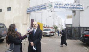 حاصباني يدعم مستشفى الكرنتينا بمواجهة كورونا