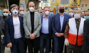 وزير الصحة: لن نسمح للوباء أن ينتشر داخل مخيم الجليل