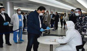 دياب يطّلع على إجراءات قوى الأمن حول تدابير استقبال العائدين