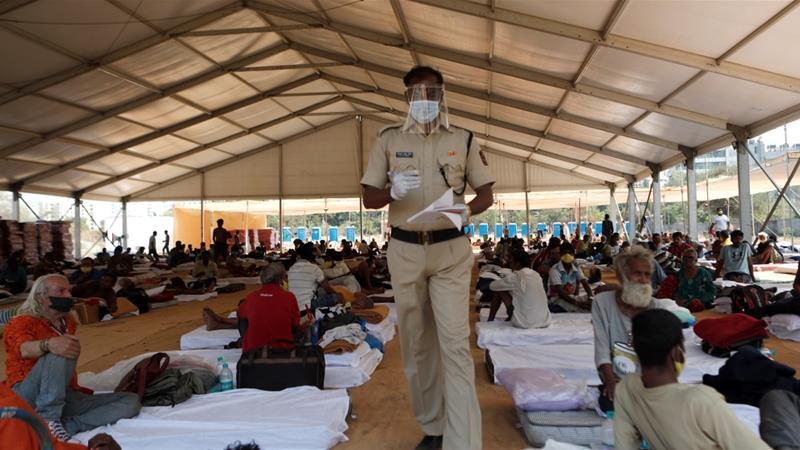 """كورونا في الهند… """"بارقة أمل"""" لأول مرة منذ 46 يوماً"""