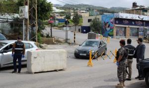 """بالصور: حواجز لـ""""أمن الدولة"""" في جبيل"""