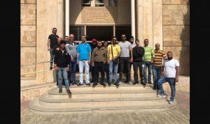 اعتصام لمياومي بلدية الميناء للمطالبة برواتبهم