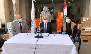 خير سلّم مستشفى الحريري مستلزمات طبية للوقاية من كورونا