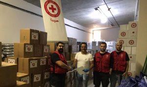 967 حصة غذائية من الجالية في الصين إلى الصليب الأحمر في صيدا