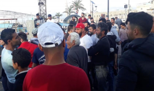 اعتصام في صيدا احتجاجًا على قرار وقف رحلات الصيد