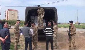 توزيع حصص غذائية على عائلات طرابلسية