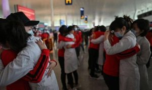 بالصور: ووهان الصينية ترفع قيود كورونا