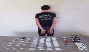 توقيف مروّج في الشويفات بحوزته كمية من المخدرات
