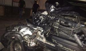 وفاة شاب وجرح آخر في حادث سير مروع في الدوير.. (فيديو)