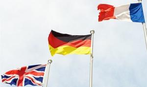 """فرنسا وبريطانيا وألمانيا """"تأسف"""" لإنهاء اميركا إعفاءات من العقوبات على إيران"""