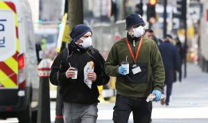ارتفاع عدد حالات وفيات كورونا في بريطانيا إلى 44819