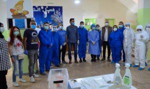فريق طبي أجرى فحوصات لـ300 مخالط للاصابات في شحيم وبرجا