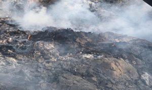 بالفيديو والصور- الاهالي يدفعون ثمن احراق النفايات في كوسبا