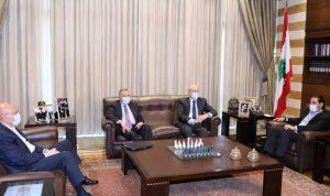 لقاء لرؤساء الحكومات السابقين في بيت الوسط