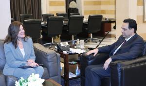خطة الحكومة بين دياب والسفيرة الأميركية