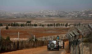 أعمال صيانة وشق طرق للجيش الاسرائيلي قبالة الوزاني