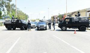 حواجز لقوى الأمن على مداخل بيروت (صور)