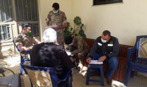 الجيش واصل توزيع المساعدات للسائقين في الكورة