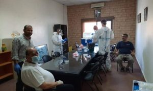 """""""الصحة"""" بدأت بإجراء فحوصات PCR في عنقون"""