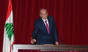 رئيس الاتحاد البرلماني العربي عرض مع بري أوضاع المنطقة