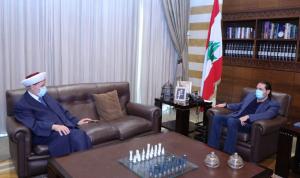 الحريري عرض شؤونًا طرابلسية مع الشعار