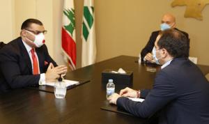آخر التطورات بين الجميل والسفير المصري