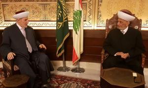 الشعار: تمنيت على دريان قبول اعتذاري من مهام إفتاء طرابلس