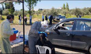 بلدية زغرتا دشنت مركز DRIVE THRU لفحوصات الـPCR
