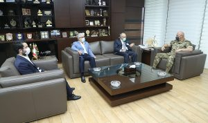 قائد الجيش استقبل الرئيس الجديد لجامعة LAU