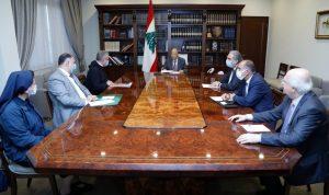 عون: معالجة الأزمة التربوية ستكون جزءا من الحلول في خطة الحكومة