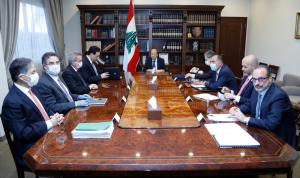 اجتماع مالي في بعبدا: الاتفاق على إلزامية بتّ الارقام وفقاً لمقاربة واحدة