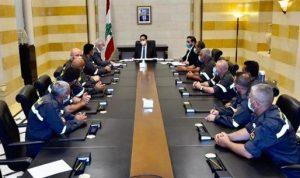 دياب عرض مع خطار لملفّ تثبيت المتطوعين في الدفاع المدني
