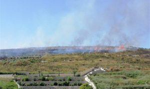 حريق في صيدا… وخوف من تمدد النيران