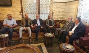 وزير الصحة بحث شؤونا إنمائية مع اتحاد بلديات بعلبك
