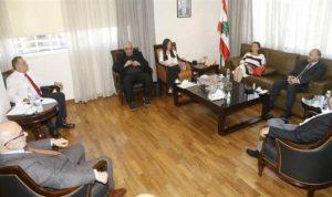 حب الله بحث مع المجلس الوطني لريادة الاعمال في دعم القطاع الصناعي