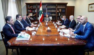 اجتماع في بعبدا لاستكمال المفاوضات مع صندوق النقد