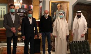 جنبلاط وسفراء الخليج: صورة على شكل رسالة