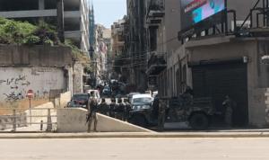 نقطة ثابتة للجيش عند مدخل الخندق الغميق (فيديو)