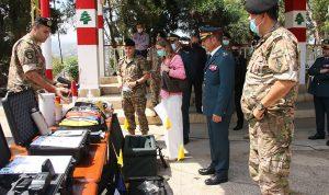 هبة إيطالية عسكرية للجيش اللبناني