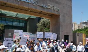 اعتصام لمتعاقدي اللبنانية: لإنجاز ملف التفرغ ورفعه إلى مجلس الوزراء لإقراره