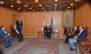 مرتضى من المجلس الشيعي: نشكره على وضع أراضيه بتصرف المزارعين