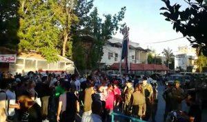 تحرك احتجاجي ومسيرة لحراكي النبطية وكفررمان