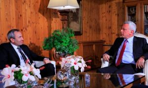 التطورات السياسية بين فرنجية وسفير بريطانيا