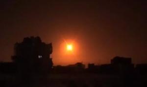 مقتل 9 موالين للنظام في غارات إسرائيلية على ريف حماة