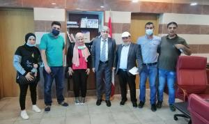 وزير التربية عرض ومتعاقدي المهني مطالبهم