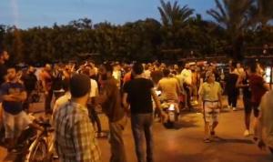 اعتصام أمام منزل ميقاتي في طرابلس