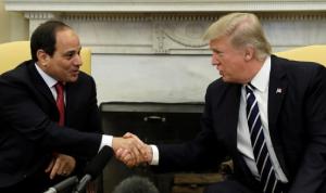 اتصال بين السيسي وترامب.. توافق على وقف إطلاق النار في ليبيا
