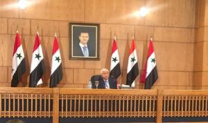 المعلم: جاهزون للتعاون مع لبنان بمواجهة قانون قيصر